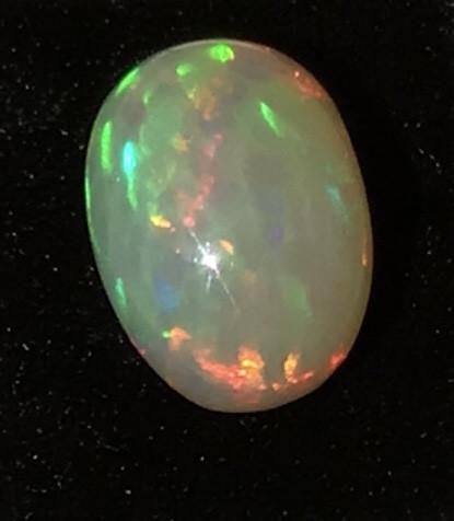 Ethiopian, welo opal cab, welo opal, fire opal, honeycomb opal