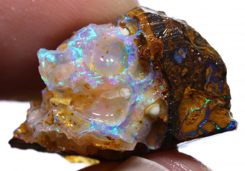 27cts Yowah Opal Fusion Rough ADO-9487 - adopals