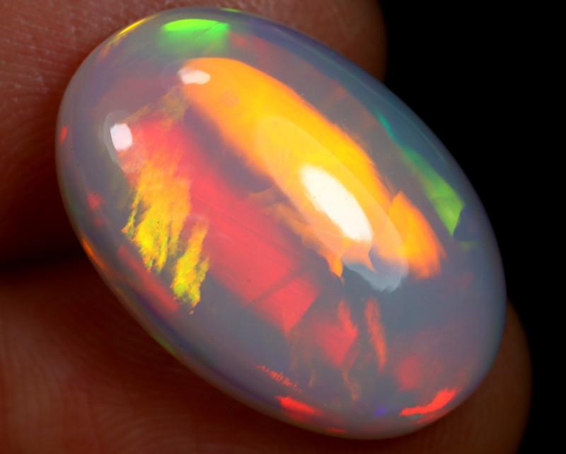 8.21cts Natural Ethiopian Welo Opal / HBF8098