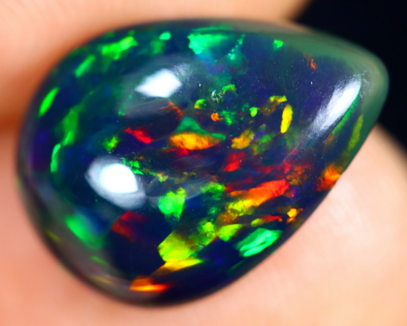 2.93cts Natural Ethiopian Smoked Welo Opal /BF8197