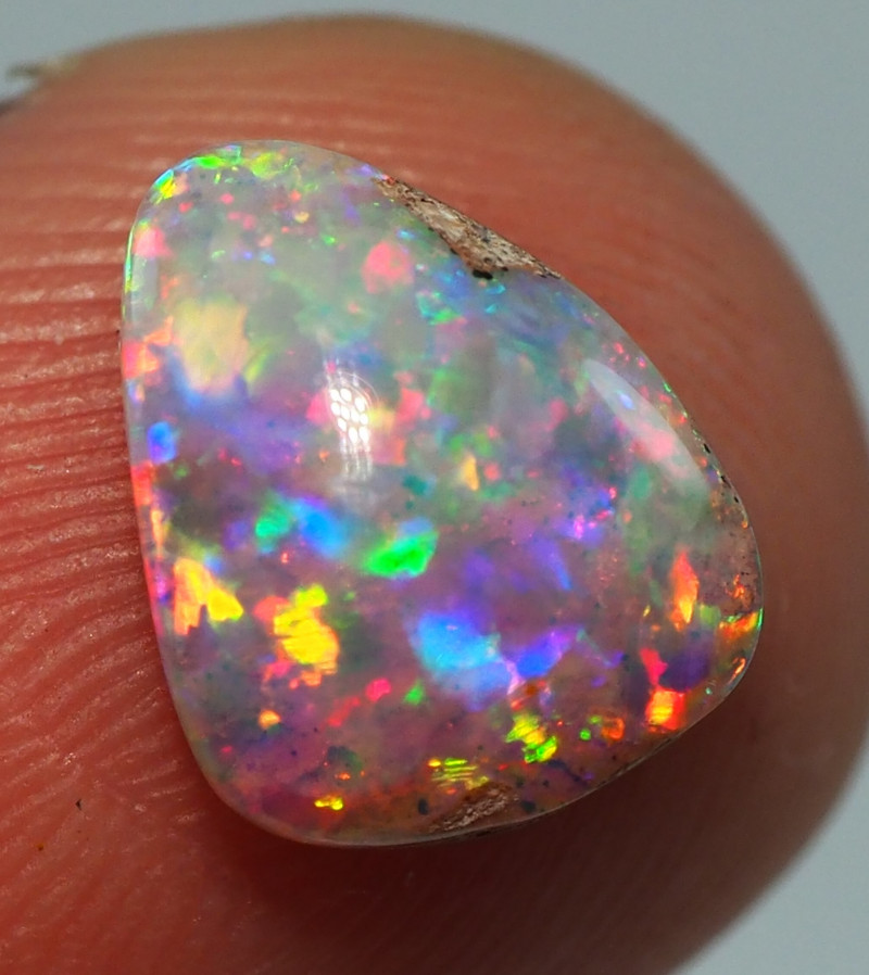 1.45CT TOP GEM PIPE WOOD REPLACEMENT BOULDER OPAL AA852