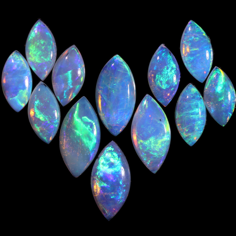 2.47 CTS  CRYSTAL OPAL PARCEL SET [CP7660]