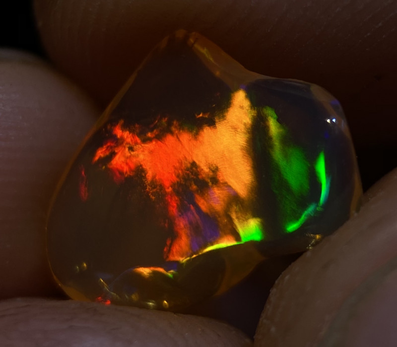 2.415ct Mexican Crystal Opal (OM)
