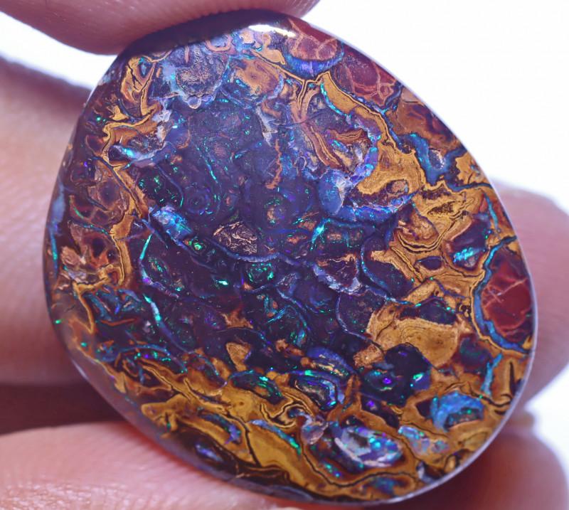 26.98 Carats Koroit Opal Cut Stone ANO-2610