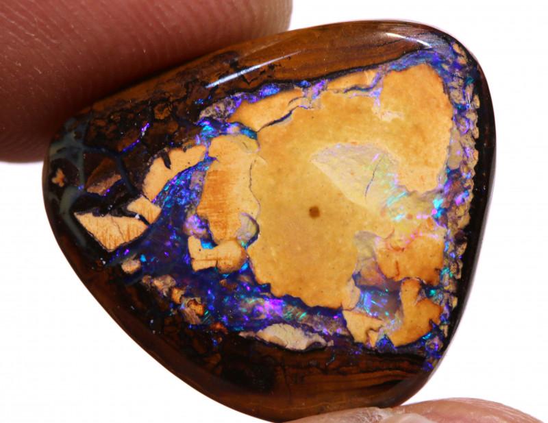 Yowah Boulder Opal Nut AOH- 661 - australianopalhunter