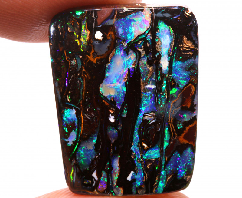 19.90cts  UNIQUE KOROIT OPAL POLISHED STONE INV-2297    investmentopals