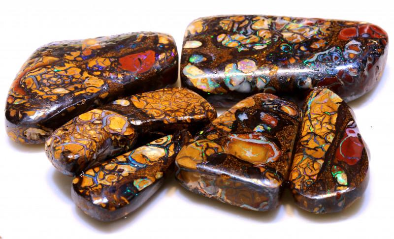 500cts koroit opal pre shaped rub wholesale  parcel DT-A5348  dreamtimeopal