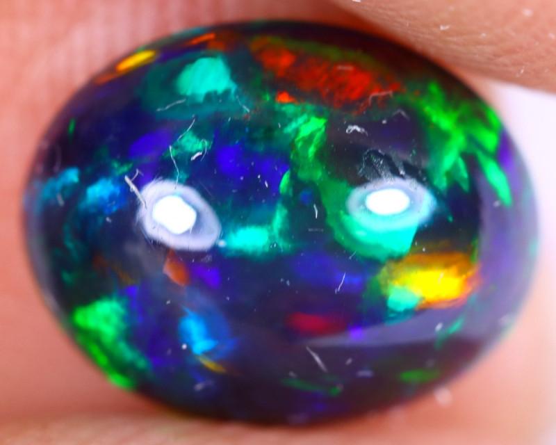 1.51cts Natural Ethiopian Welo Smoked Opal / NY3276