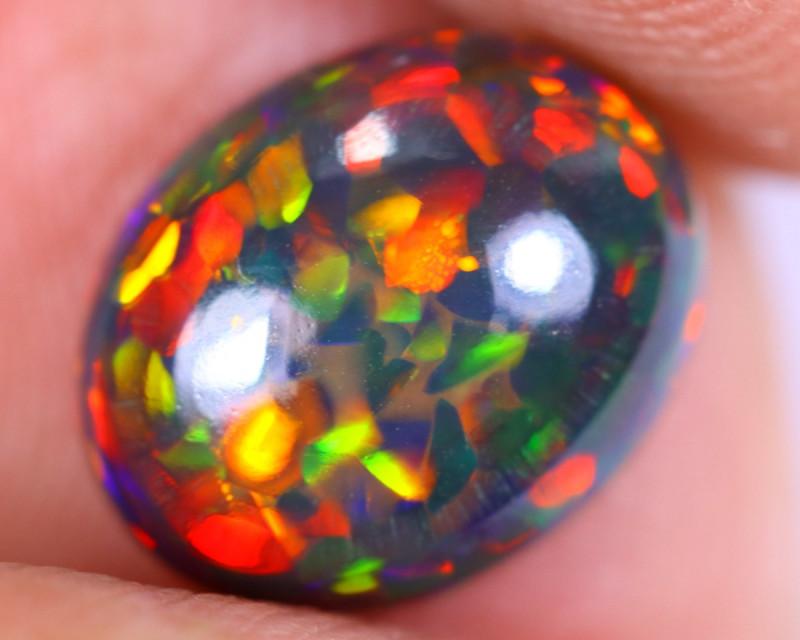 1.74cts Natural Ethiopian Welo Smoked Opal / NY3281
