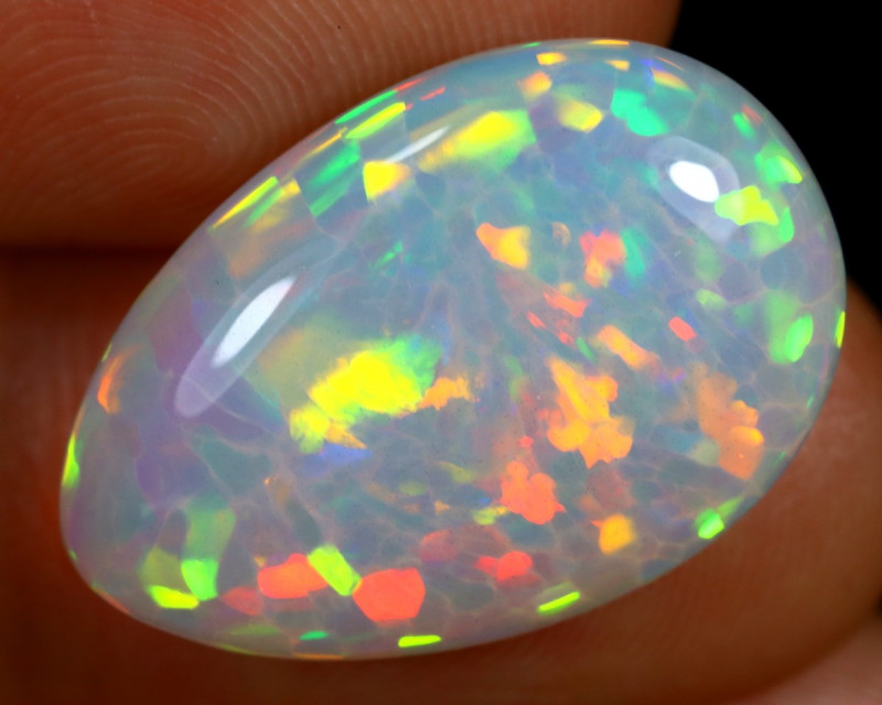 8.36cts Natural Ethiopian Welo Opal / BF8465