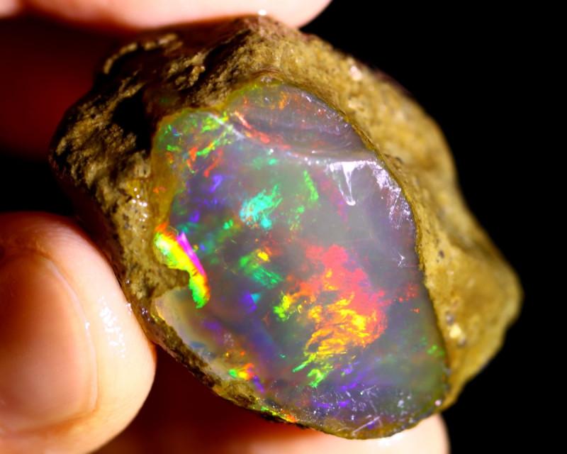 82cts Ethiopian Crystal Rough Specimen Rough / CR5004