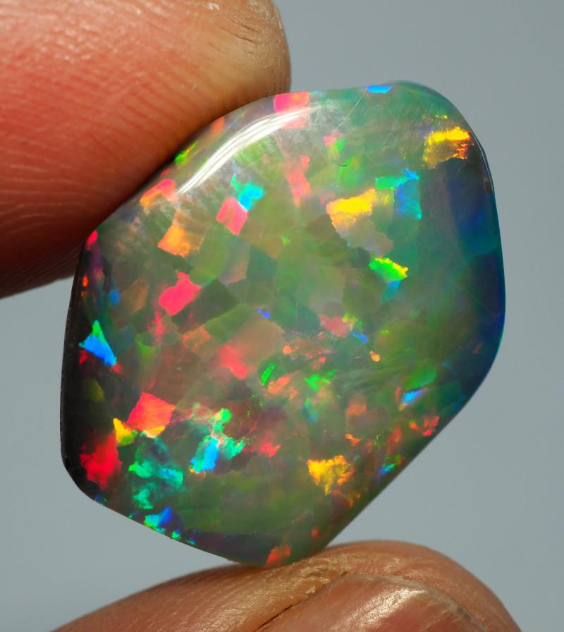 HARLEQUIN PATTERN opal
