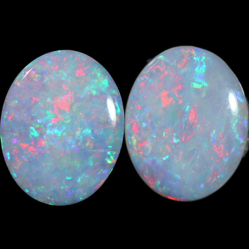 1.66 CTS FIRE WHITE OPAL CALIBRATED PAIR [CP7731]6