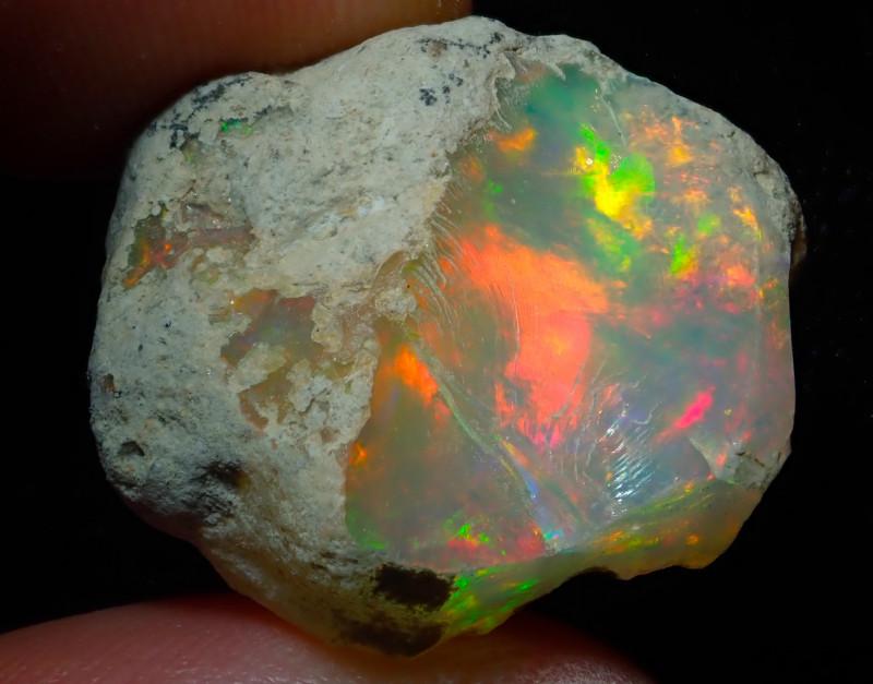 25.15ct Natural Ethiopian Welo Rough Opal