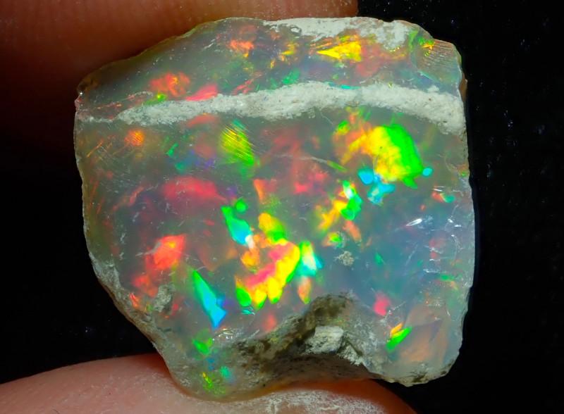 15.53ct Natural Ethiopian Welo Rough Opal