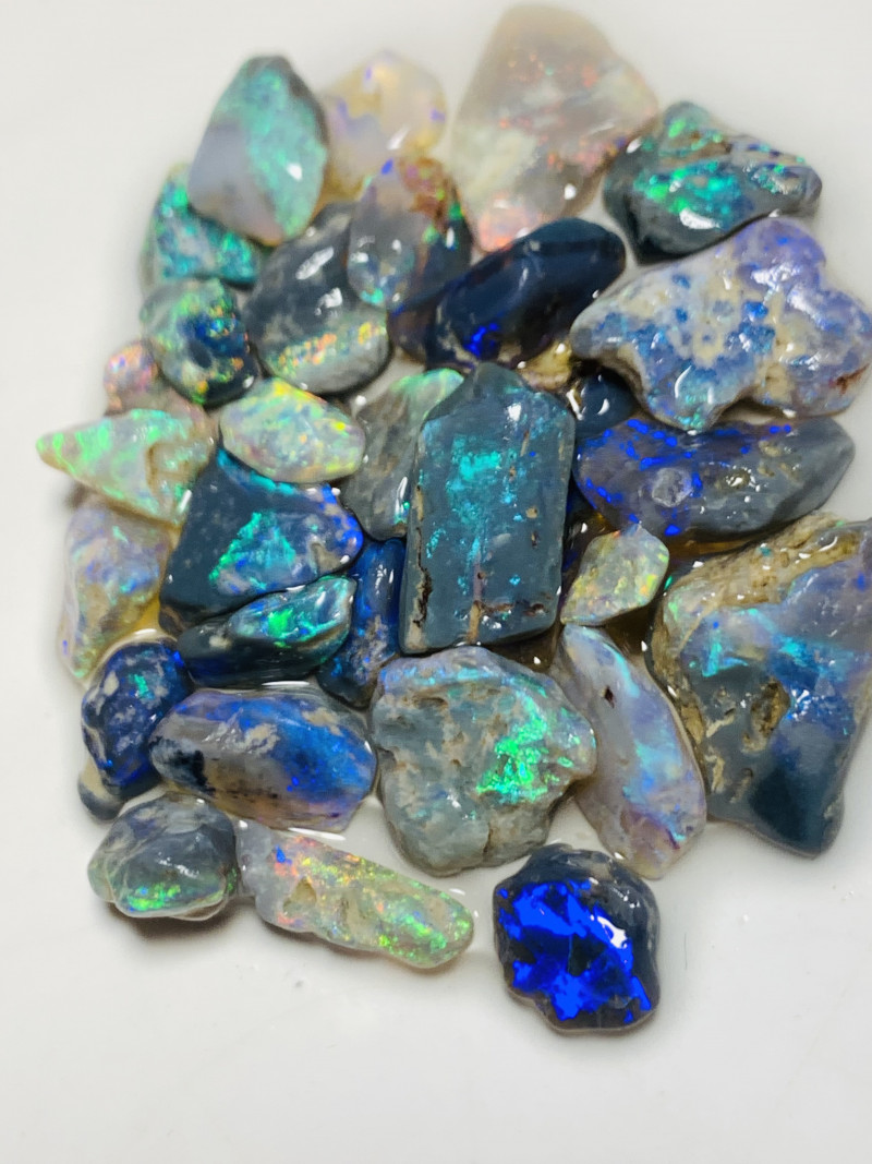 Handpicked Nobby Rough Opals- 47 CTs Cutters Rough#584