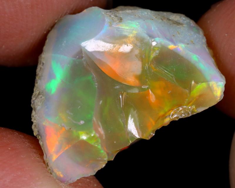 9cts Natural Ethiopian Welo Rough Opal/ SU399