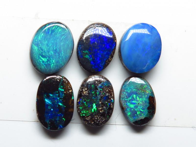 3.23ct Australian Boulder Opal Stone Parcel