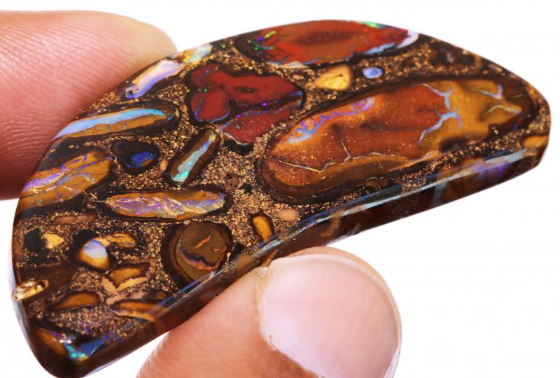 Yowah Boulder Opal AOH-974 - australianopalhunter