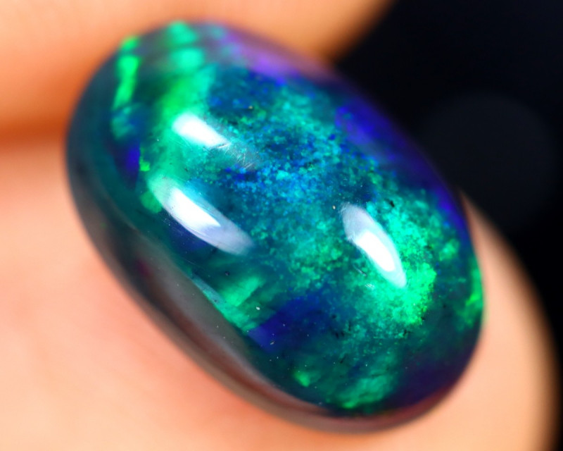 1.97cts Natural Ethiopian Welo Smoked Opal / HM3265