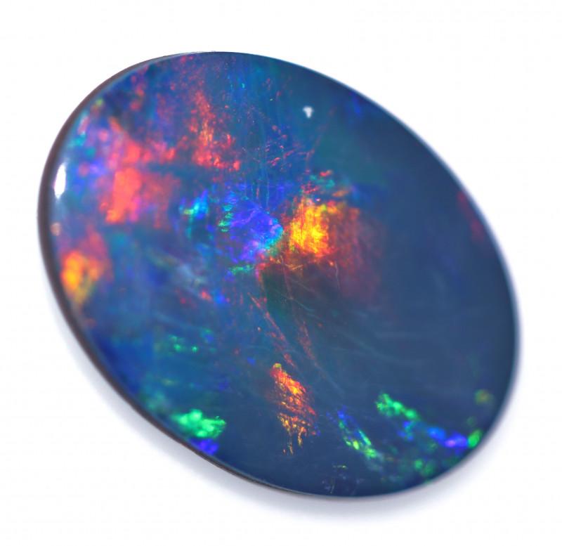 3.00 cts Australian Gem Opal Doublet  RD 332