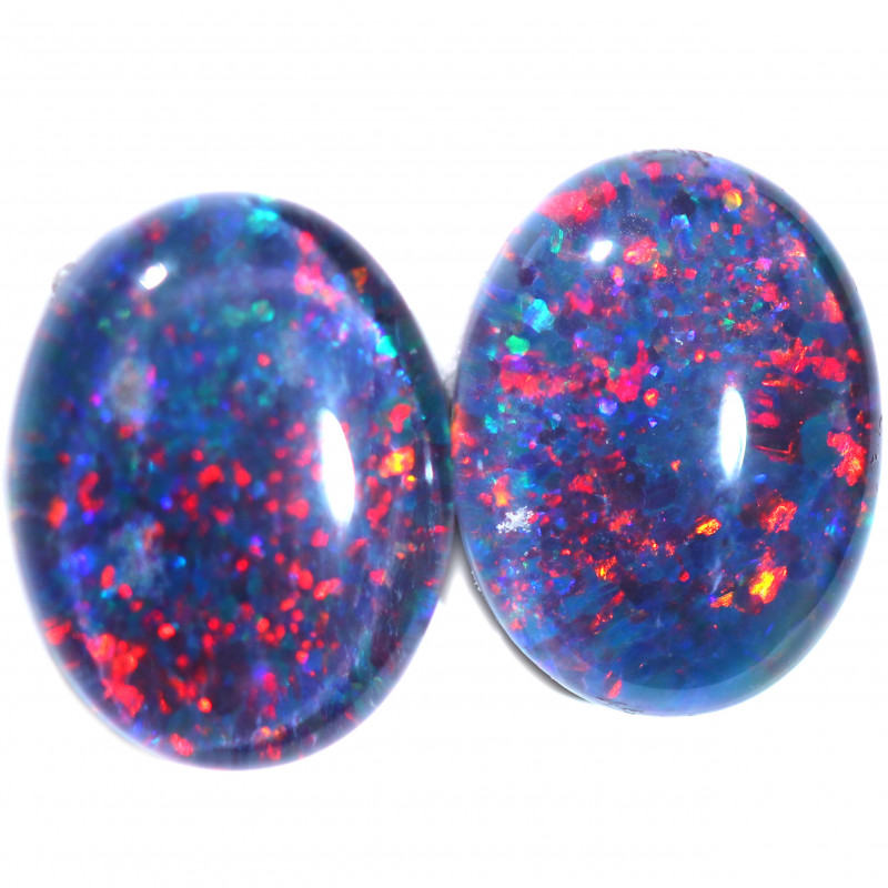 2.81 CTS  TRIPLET OPAL PAIRS [SO2031]