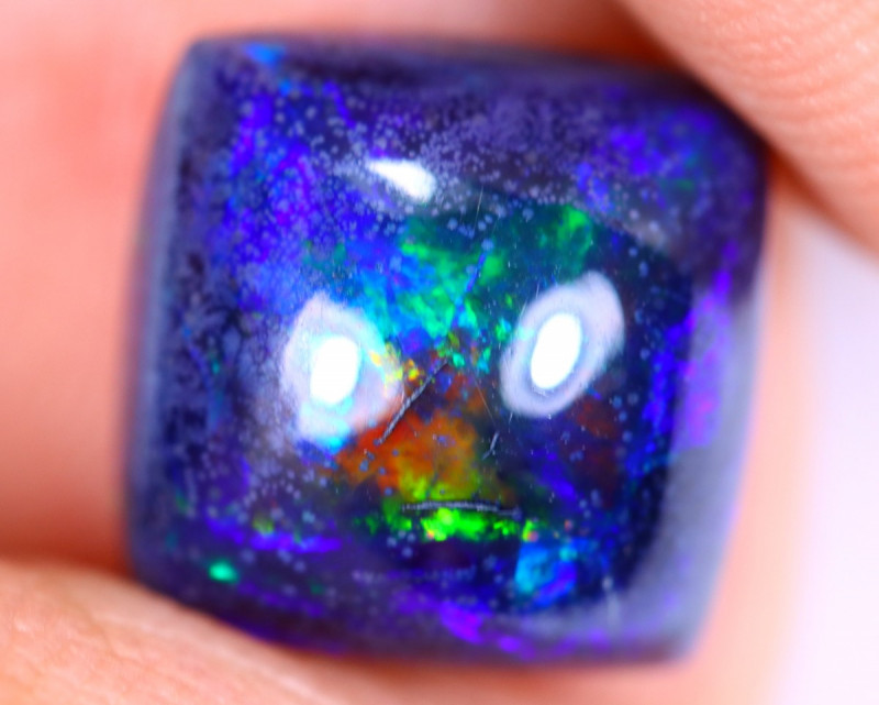 2.37cts Natural Ethiopian Welo Smoked Opal / HM3308
