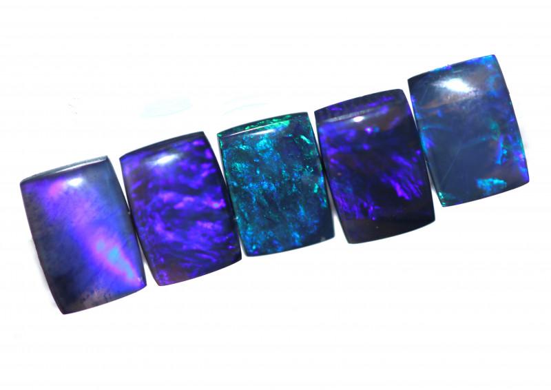 5.34 Cts Nice Oblong Shape Black Opal Parcel Code RD 430