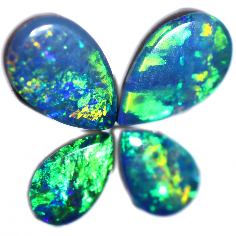 1.52 CTS  OPAL DOUBLET SET 4 [SO2125]