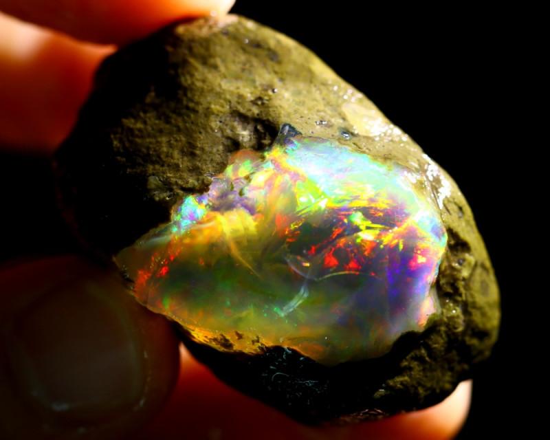132cts Ethiopian Crystal Rough Specimen Rough / CR5216