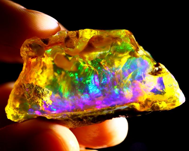 144cts Ethiopian Crystal Rough Specimen Rough / CR5265