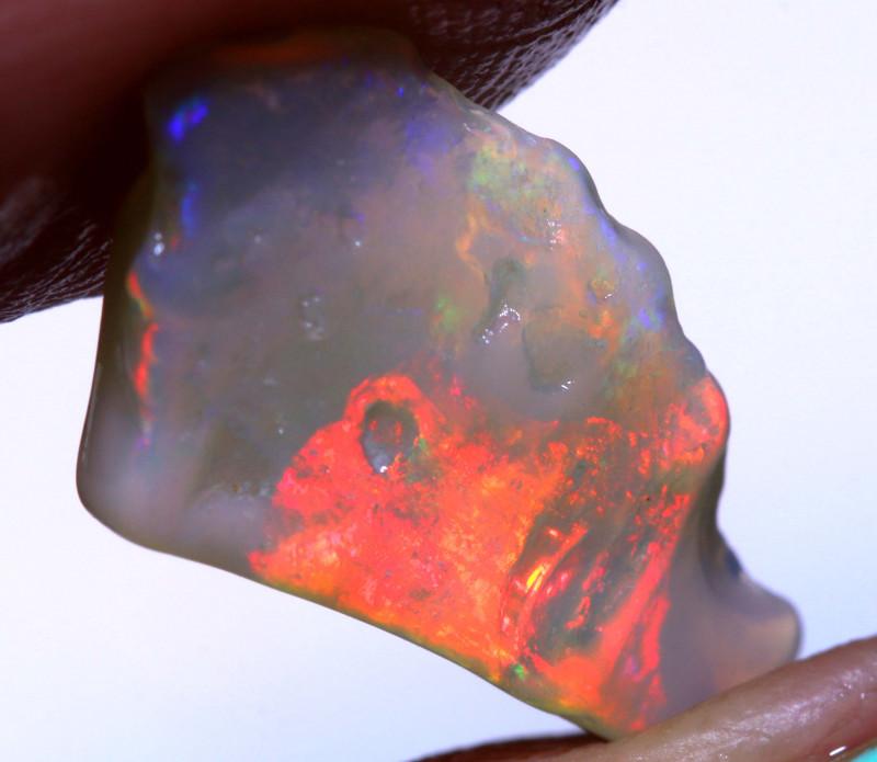 2.70cts Dark Base Opal Rough From Lightning Ridge DT-A5705   Dreamtimeopals