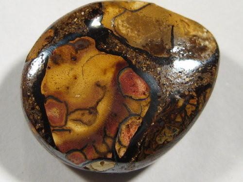 YowahOpals*16.45ct -TEAR DROP PENDANT - Boulder Opal