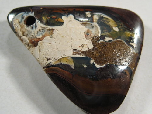 YowahOpals*29.30ct -BOULDER OPAL DRILLED- Boulder Matrix