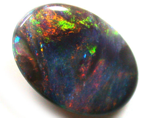 BLACK OPAL SUNSET FIRE COLOURS  1.30 CTS  R1665