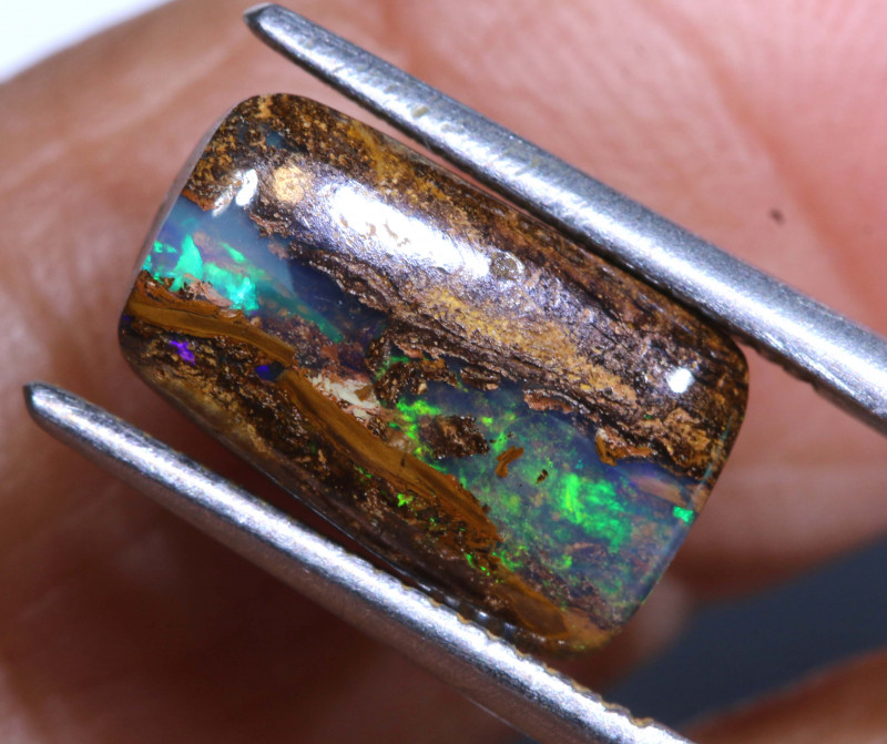 3.50CTS   BOULDER  OPAL WOOD REPLACEMENT RO-2266    Raniopals