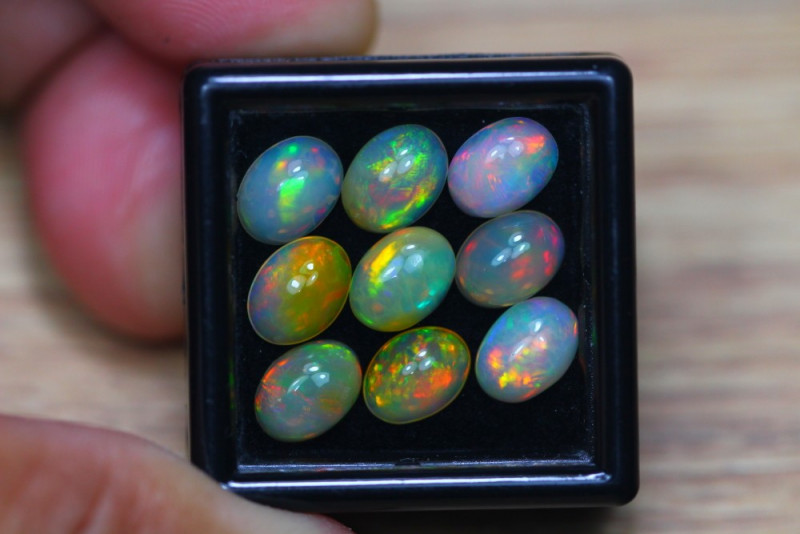 6.53Ct Natural Ethiopian Welo Solid Opal Lot W1151