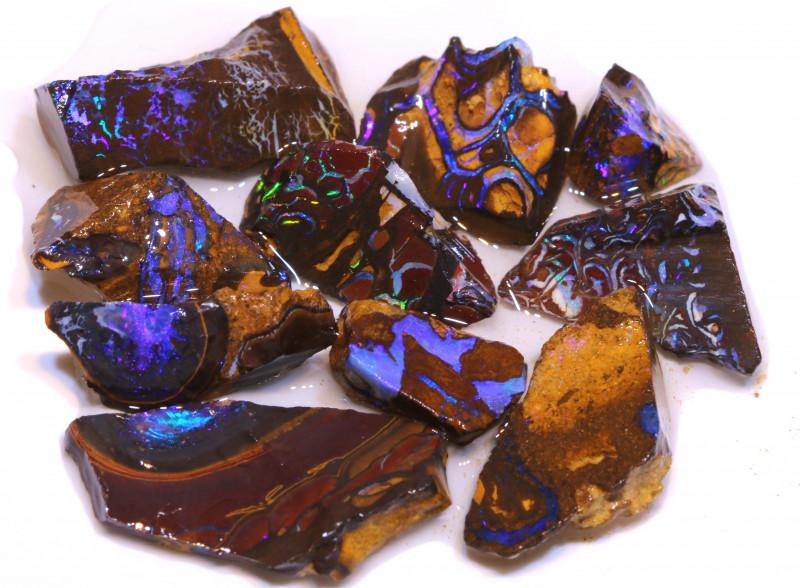 Koroit Opal Beginners Rough Parcels DO- 2958 - downunderopals