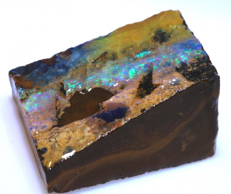 60.55 cts Yowah Opal Rough Slice D-132   Daviddarbyopals