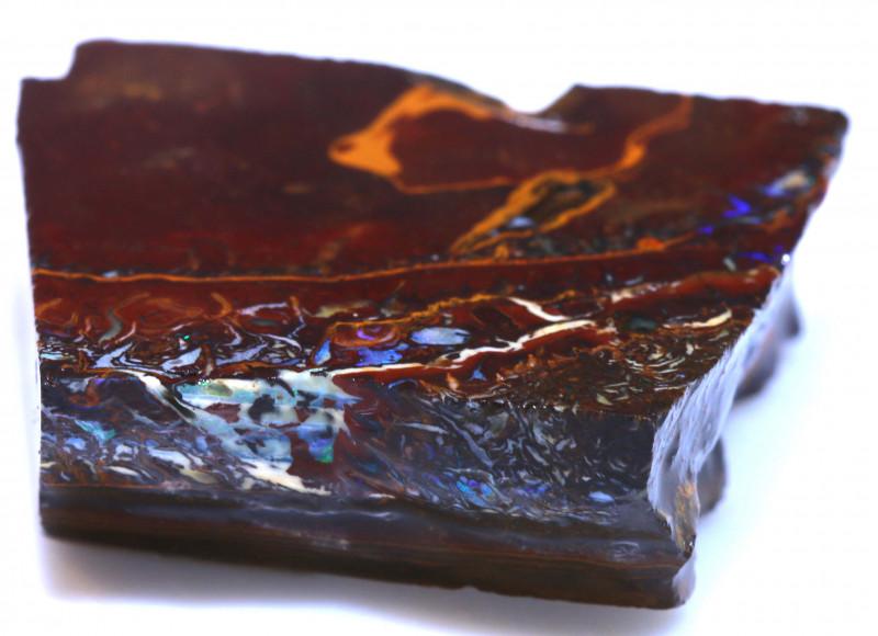 115.90 cts Yowah Opal Rough Slice D-134    Daviddarbyopals