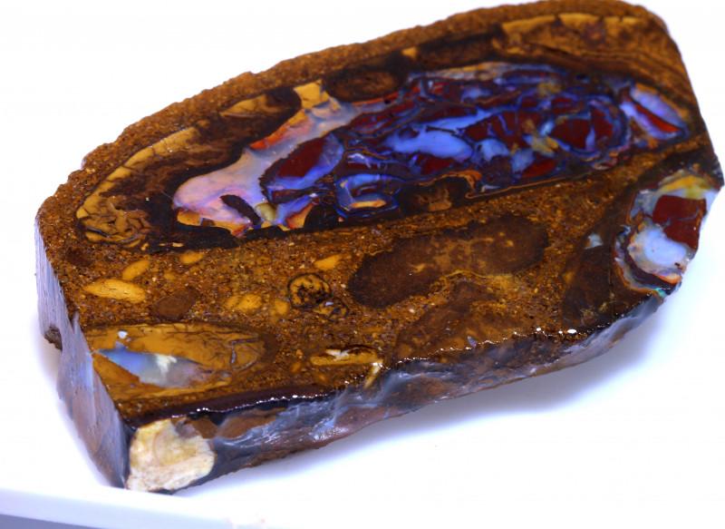 213.10 cts Yowah Opal Rough Slice D-155   Daviddarbyopals