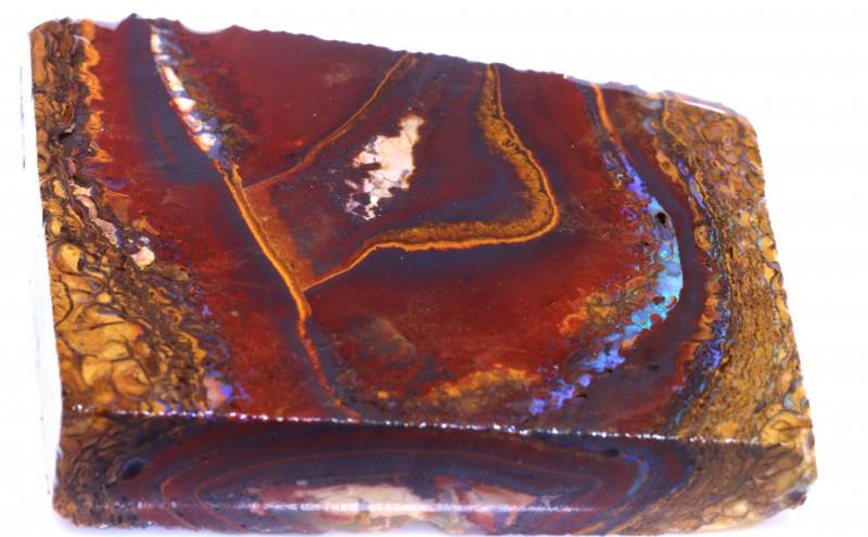 332.70 cts Yowah Opal Rough Slice D-157   Daviddarbyopals