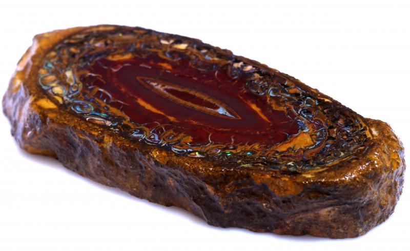 166.00 cts Yowah Opal Rough Slice D-160   Daviddarbyopals