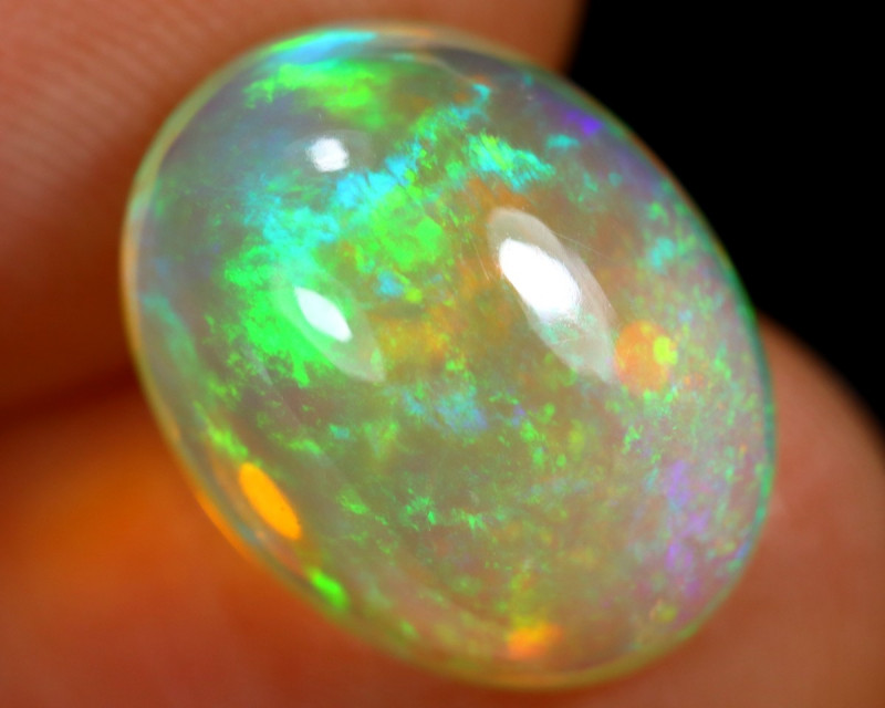 4.93cts Natural Ethiopian Welo Opal / ABF528