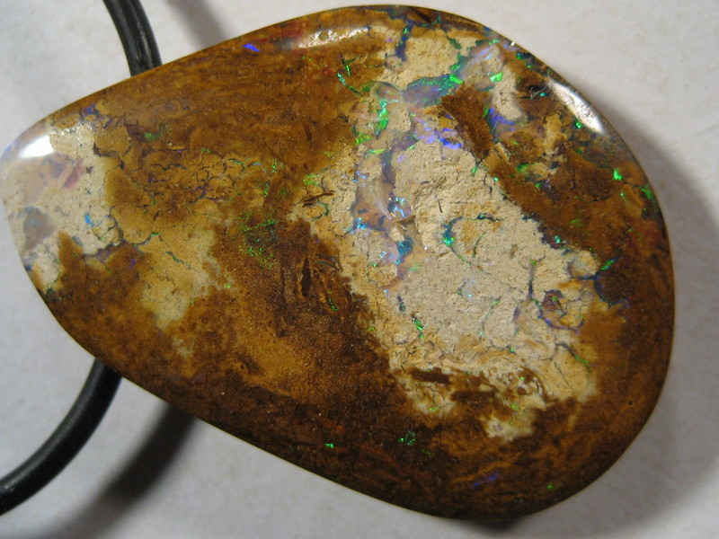 YowahOpals*36.30ct - Boulder Opal ^ Drilled for PENDANT