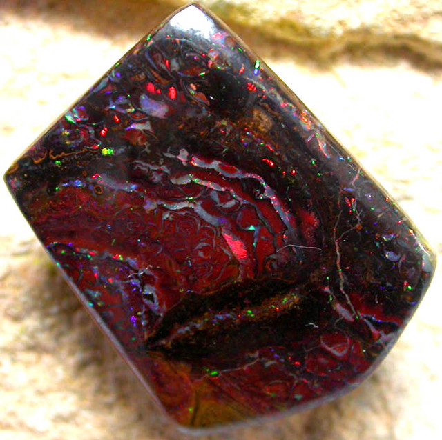 22..35 CTS  [BM]  TOP RED YOWAH STONE     [FJP1083  ]
