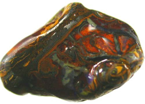 YOWA NUT SPECIMEN WITH TOP PATTERN 29CTS [BMA732 ]