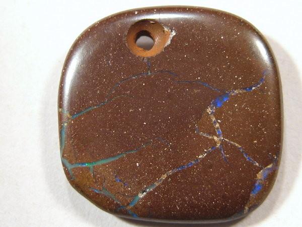 YOWAHOPALS*7.40ct -Boulder Matrix  Opal - PENDANT -