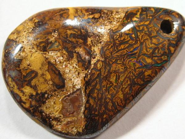 YOWAHOPALS*22.45ct -Boulder Matrix  Opal - PENDANT -