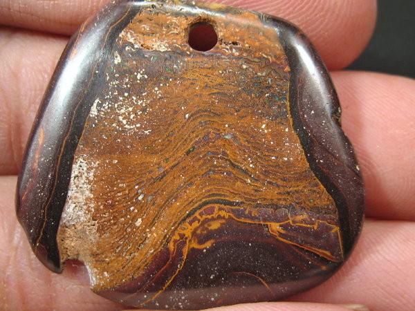 YOWAHOPALS*45.50ct -Boulder Matrix  Opal - PENDANT -